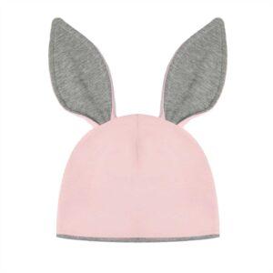 czapka z uszami królika